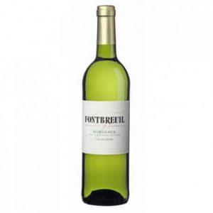 Bordeaux blanc Fontbreuil Sauvignon