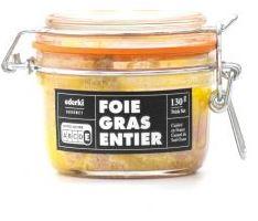 Foie gras entier mi-cuit en terrine -bloc de 350gr