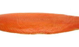 Filet de saumon entier fumé bois hêtre- à froid