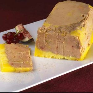 Foie gras de canard mi-cuit en terrine – prix au 100 gr